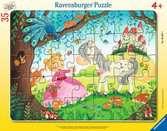 V zemi malých princezen 35 dílků 2D Puzzle;Dětské puzzle - Ravensburger