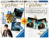 Multipack memory®+ 3 puzzle Harry Potter Juegos;Juegos educativos - Ravensburger