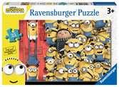 Mimoni 2 35 dílků 2D Puzzle;Dětské puzzle - Ravensburger