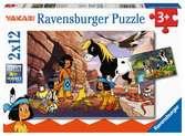 Unterwegs mit Yakari Puzzle;Kinderpuzzle - Ravensburger