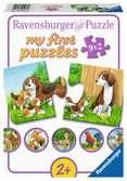 Dierenfamilies op de boerderij Puzzels;Puzzels voor kinderen - Ravensburger