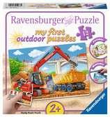 Meine Baustelle Puzzle;Kinderpuzzle - Ravensburger