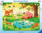 Puzzle cadre 30-48 p - Les petits animaux Puzzle;Puzzle enfant - Ravensburger