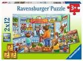 We gaan boodschappen doen Puzzels;Puzzels voor kinderen - Ravensburger