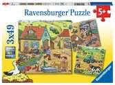 Viel los auf dem Bauernhof Puzzle;Kinderpuzzle - Ravensburger