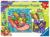 Super Zings Puzzle 3x49 Puzzle;Puzzle per Bambini - Ravensburger