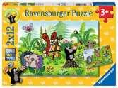 Gartenparty mit Freunden Puzzle;Kinderpuzzle - Ravensburger