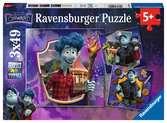 Puzzles 3x49 p - Ian et Barley / En avant Puzzle;Puzzle enfant - Ravensburger