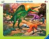 Puzzle cadre 30-48 p - Le Spinosaure Puzzle;Puzzle enfant - Ravensburger