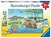 Jees animaux du monde Puzzle;Puzzles enfants - Ravensburger