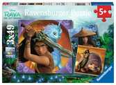 Raya & the Last Dragon 3x 49pc Puzzles;Children s Puzzles - Ravensburger