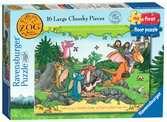 Zog My First Floor Puzzle, 16pc Puzzles;Children s Puzzles - Ravensburger