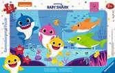 Puzzle cadre 15 p - Les aventures de Baby Shark Puzzle;Puzzle enfant - Ravensburger