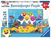 Baby Shark en zijn familie Puzzels;Puzzels voor kinderen - Ravensburger