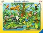Tiere im Regenwald Puzzle;Kinderpuzzle - Ravensburger