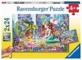 Betoverende zeemeerminnen Puzzels;Puzzels voor kinderen - Ravensburger