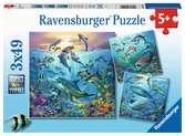 Dieren in de oceaan Puzzels;Puzzels voor kinderen - Ravensburger