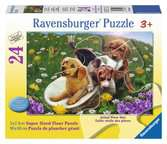 Frolicking Puppies Jigsaw Puzzles;Children s Puzzles - Ravensburger