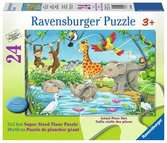 Waterhole Fun Jigsaw Puzzles;Children s Puzzles - Ravensburger