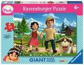Heidi y Peter de pastoreo Puzzles;Puzzle Infantiles - Ravensburger