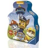 Puzzle boite forme 35 p - La Pat'Patrouille en mission Puzzle;Puzzle enfant - Ravensburger
