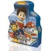 Puzzle boite forme 35 p - La Pat'Patrouille prête à l'action Puzzle;Puzzle enfant - Ravensburger