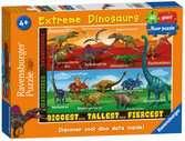 Extreme Dinosaurs Giant Floor Puzzle 60pc Puzzles;Children s Puzzles - Ravensburger