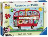 Rachel Ellen Animals Express, Giant Floor Puzzle, 24pc Puzzles;Children s Puzzles - Ravensburger