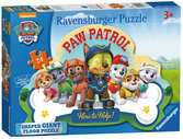 Paw Patrol Shaped Floor Puzzle, 24pc Puzzles;Children s Puzzles - Ravensburger