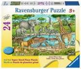 Animaux au plan d eau Puzzles;Puzzles pour enfants - Ravensburger