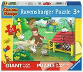Curious George Fun Jigsaw Puzzles;Children s Puzzles - Ravensburger