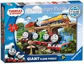 Thomas & Friends Rebecca joins the Team, 24pc Giant Floor Jigsaw Puzzle Puzzles;Children s Puzzles - Ravensburger
