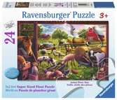 Animals of Bells Farm Jigsaw Puzzles;Children s Puzzles - Ravensburger