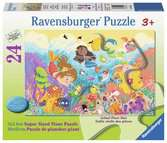 Splashing Mermaids Jigsaw Puzzles;Children s Puzzles - Ravensburger