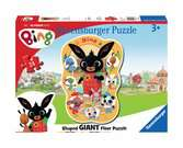 Bing Shaped Floor Puzzle Puzzles;Children s Puzzles - Ravensburger