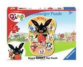 Bing Shaped Floor Puzzle Puzzles;Children s Puzzles - Ravensburger