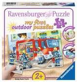 My first outdoor puzzle - Les pompiers Puzzle;Puzzle enfant - Ravensburger