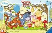 Puzzle cadre 15 p - La fête du miel / Winnie l ourson Puzzle;Puzzle enfant - Ravensburger