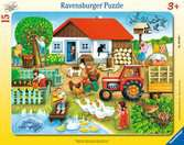 Was geh?rt wohin? Puzzle;Kinderpuzzle - Ravensburger