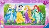 Disney Princezny na procházce 15 dílků 2D Puzzle;Dětské puzzle - Ravensburger