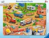 Arbeit auf der Baustelle Puzzle;Kinderpuzzle - Ravensburger