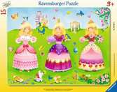3 Pretty Princesses Jigsaw Puzzles;Children s Puzzles - Ravensburger