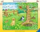 Tiere auf der Frühlingswiese Puzzle;Kinderpuzzle - Ravensburger
