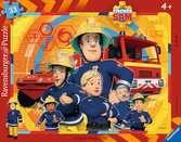 Sam, der Feuerwehrmann Puzzle;Kinderpuzzle - Ravensburger