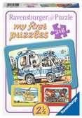 SŁUŻBY RATUNKOWE 3X6 EL Puzzle;Puzzle dla dzieci - Ravensburger