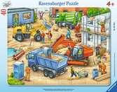 Gro?e Baustellenfahrzeuge Puzzle;Kinderpuzzle - Ravensburger
