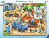 Große Baustellenfahrzeuge Puzzle;Kinderpuzzle - Ravensburger