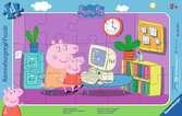 Devant l ordinateur / Peppa pig Puzzle;Puzzle enfant - Ravensburger
