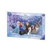 Puzzle cadre 15 p - Sous les étoiles / Disney La Reine des Neiges Puzzle;Puzzle enfant - Ravensburger