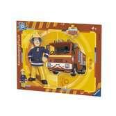 Puzzle cadre 30-48 p - Sam et son camion / Sam le pompier Puzzle;Puzzle enfant - Ravensburger
